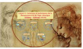 P2L4 : Sciences et Techniques de la Renaissance