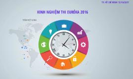 PHONG NCKH - KINH NGHIỆM THI EUREKAL 2016
