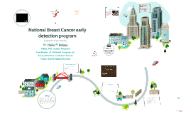 National Breast Cancer early detection program