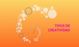 Diversos tipos de creatividad