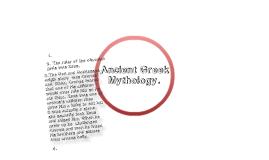 Ancient Greece Mythology.