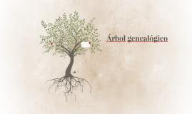 Árbol geneal+ogico