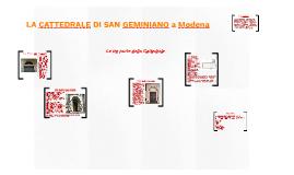 LA CATTEDRALE DI SAN GEMINIANO a Modena
