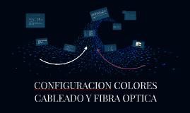CONFIGURACION COLORES CABLEADO Y FIBRA OPTICA