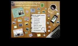 Developing Secondary Digital Leaders (LLS)
