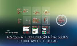 Ascom, mídias sociais e outros ambientes digitais