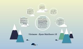 Vietnam - Ryan Matthews 1B