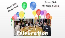 Copy of Free Celebration template