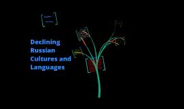 Declining Cultures & Languages