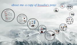 about me- a copy of Rosalia's prezi