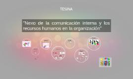 TESIS - Comunicación interna y RRHH