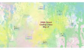 186th Street Coding Class