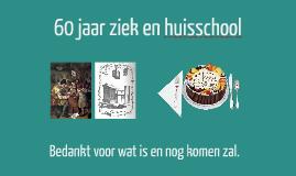 60 jaar ziekenhuisschool