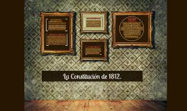 La Constitución de 1812.