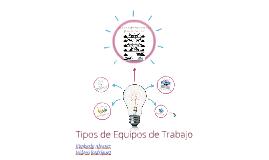 Copy of Tipos de Equipos de Trabajo