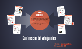 Copy of Confirmacion del acto juridico