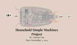 Household Simple Machine