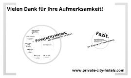 PrivateCityHotels. Gemeinsam stark am Markt