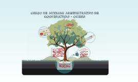 CURSO DE AUXILIAR ADMINISTRATIVO DE COOPERATIVAS - OCEMG