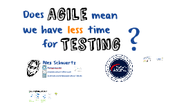 ASFQ: Does Agile means we have less time for Testing?