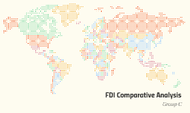FDI Comparative Analysis