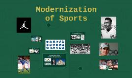 Modernization of Sports