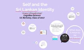 Self and the Sri Lankan Identity