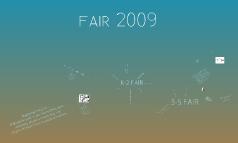 Copy of FAIR 2009
