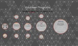 Volunteer Programs: PA8520