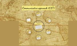 Communicative approach (CLT)