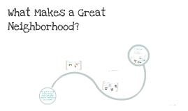 What Makes a Great Neighborhood? High School!