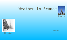 french weather