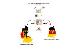 Die Nachkriegszeit in Ost und West (1945 - 1949)