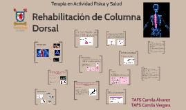 Rehabilitación de Columna Dorsal