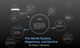 Copy of The World-System, Hegemony, and Decline