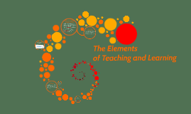 Copy of The Elements ofTeaching and Learning