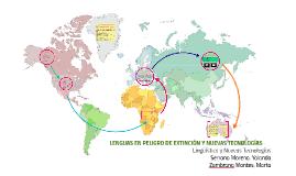 Copy of LENGUAS EN PELIGRO DE EXTINCIÓN Y NUEVAS TECNOLOGÍAS