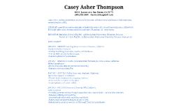 Casey Thompson Résumé