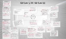 Air Law 3. EU Air Law (1)