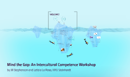 Copy of Mind the Gap: An Intercultural Competence Workshop