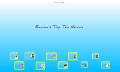 Emma's Top Ten Movies
