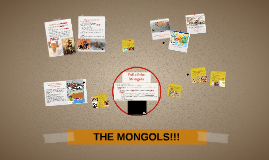 The Mongols (and a little Turk) WHAP