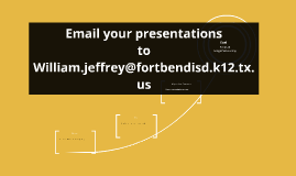 Email your presentations