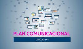 PLAN COMUNICACIONAL