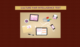 culture fair intelligence test 1 The second battery is a culture fair battery that includes the cattell culture fair, the nonverbal reasoning test and the sra pictorial reasoning test after you test with one of our local, volunteer proctors, your tests are sent to our national office for scoring.