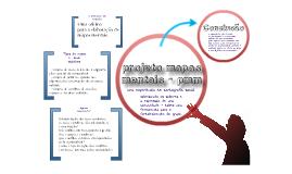 projeto mapas mentais - pmm