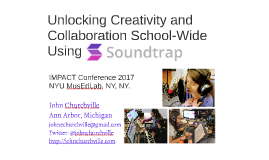 Unlocking Creativity and Collaboration School-Wide Using Soundtrap