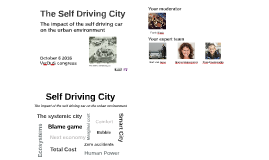 The Self Driving City Verdus