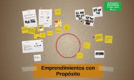 Copia de Emprendimientos con Propósito