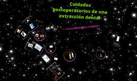Copy of Cuidados postoperatorios de una extracción dental